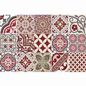 Placemat-tableware Beija Flor dec. Eclectic E5