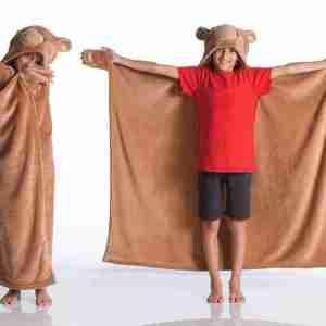Bear Kanguru coperta-mantella Kids