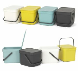 Pattumiera Sort&go Brabantia lt.6 colori assortiti come da foto