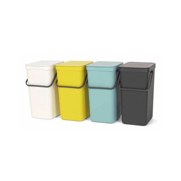 Pattumiera Sort&go Brabantia lt.12 colori assortiti come da foto