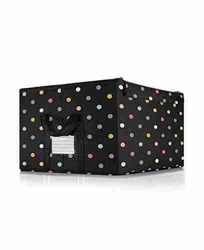 Storage box Dots Multicolor M Media