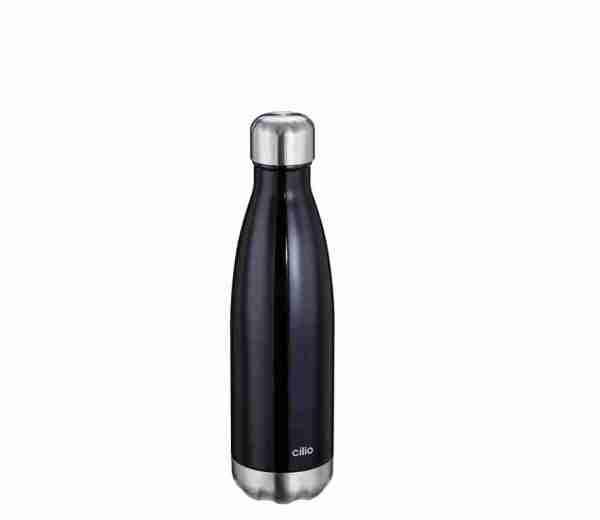 Bottiglia termica Cilio lt.0,500 nera