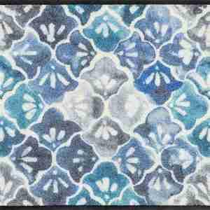 Tappeto Wash+dry Kleen-tex  Blue Ground cm.50x75