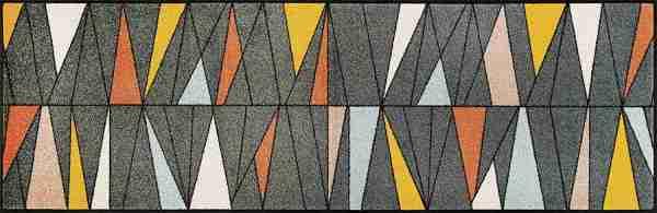 Tappeto Wash+dry Kleen-tex  Ampiezza cm.60x180