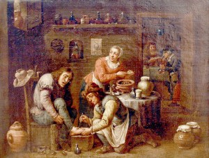 Teniers_school_Foot_operation_1663