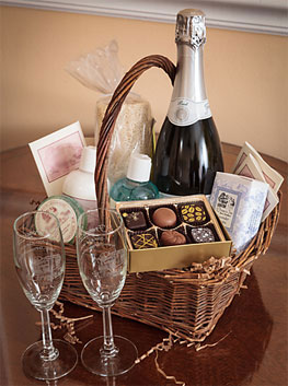 honeymoon basket
