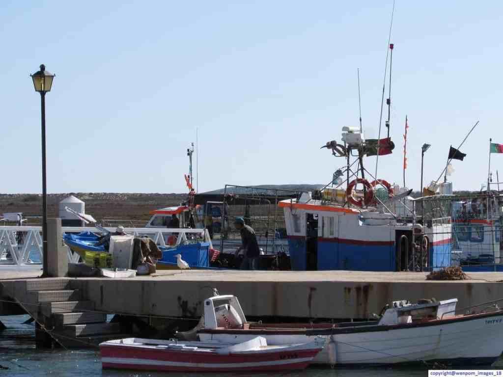 Fishing Boat in Santa Luzia