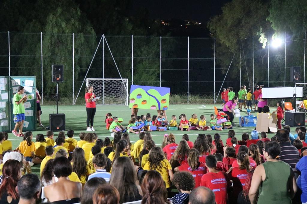 Gioia e sorrisi per la festa conclusiva del Grest di Crisci ranni a Modica