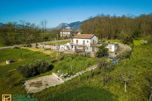 Vista casa di campagna Pratella (5)