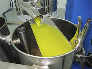 El zumo de oliva o aceite