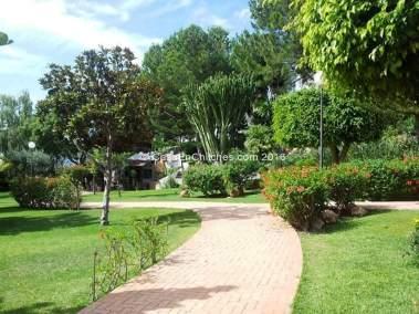 Jardines y zonas comunitarias