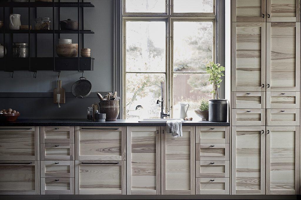 Novità Ikea Le Nuove Ante In Legno Per La Cucina Casafacile
