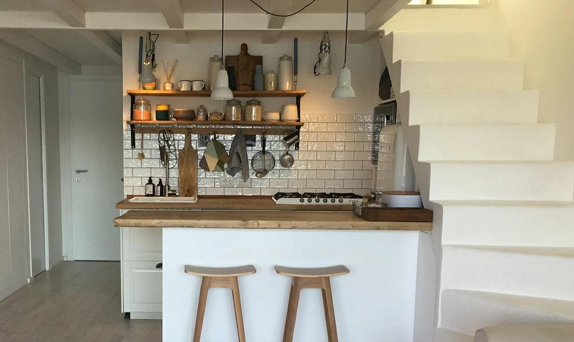 Spunti Per Arredare Una Casa Al Mare Con Cucina A Vista