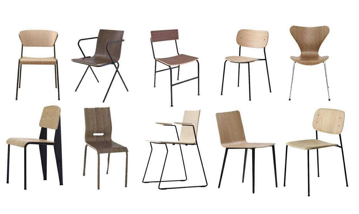 10 Sedie In Legno E Metallo Per La Sala Da Pranzo Casafacile