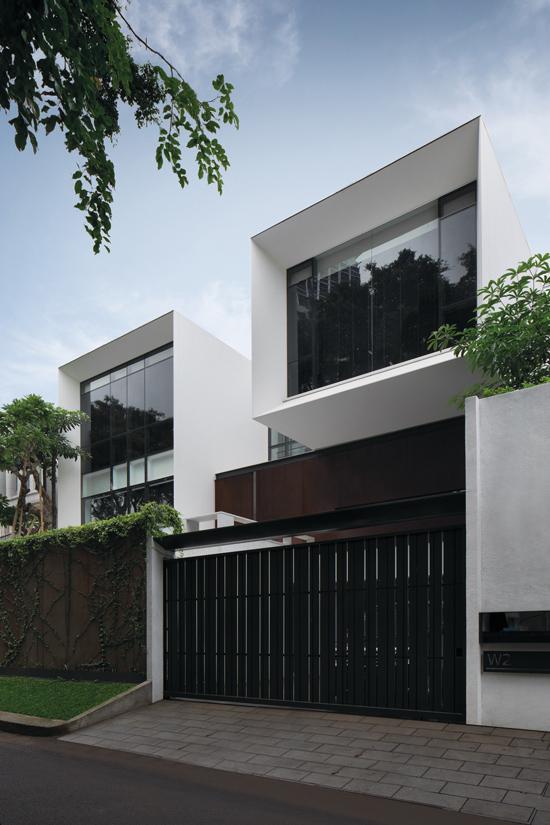 32 Inspirasi Pagar Rumah Minimalis Untuk 2019 Casaindonesia Com