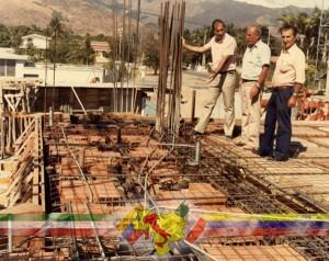 Construcción Casa de Italia de Maracay