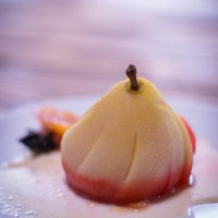 Lemon Poached Pears
