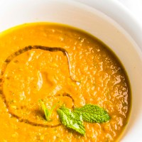 Fall Pumpkin Spice Soup