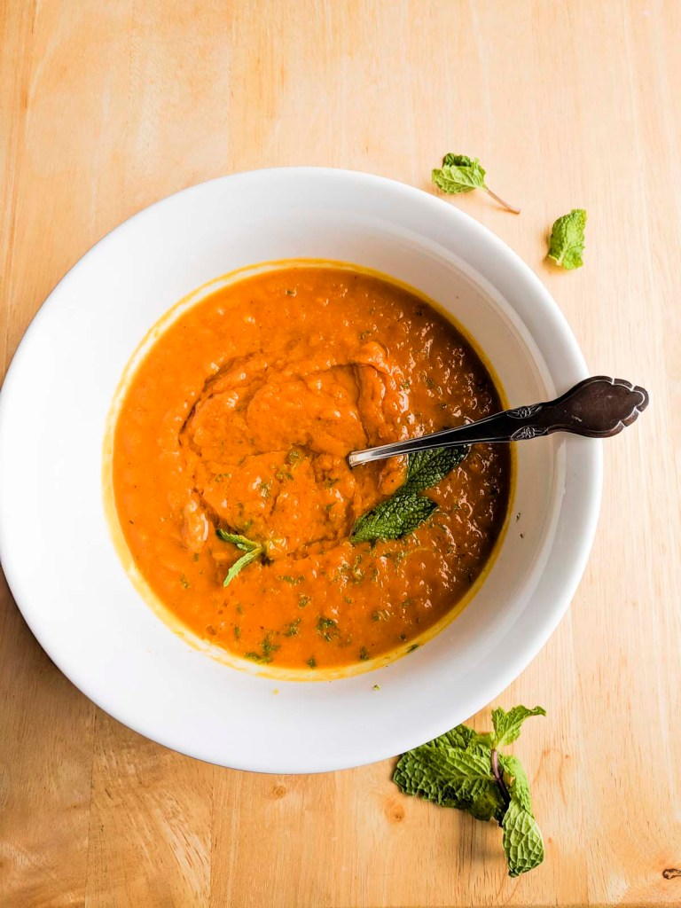 Fall Pumpkin Spice Soup