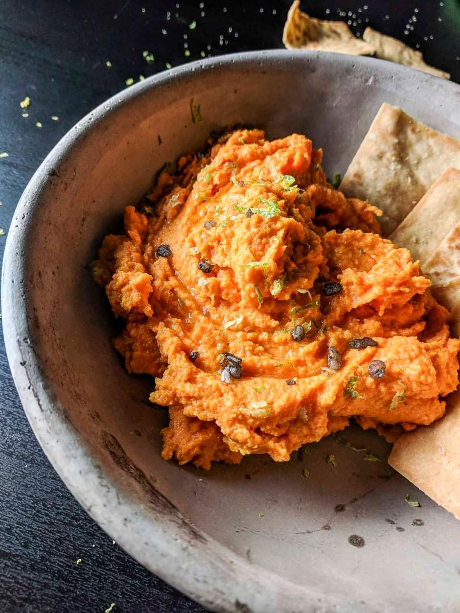 Paleo Carrot Hummus