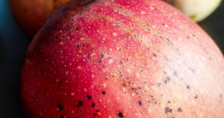 Red Mango Close Up