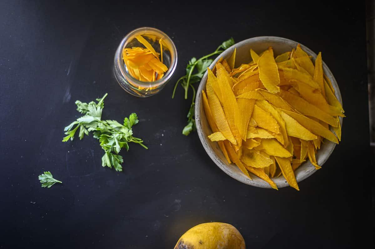 Ninja Foodi dehydrated mango
