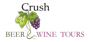 Crush Beer and Wine Tours Logo