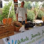 Whole Family Farms, Farmer's market at Casa Larga Vineyards