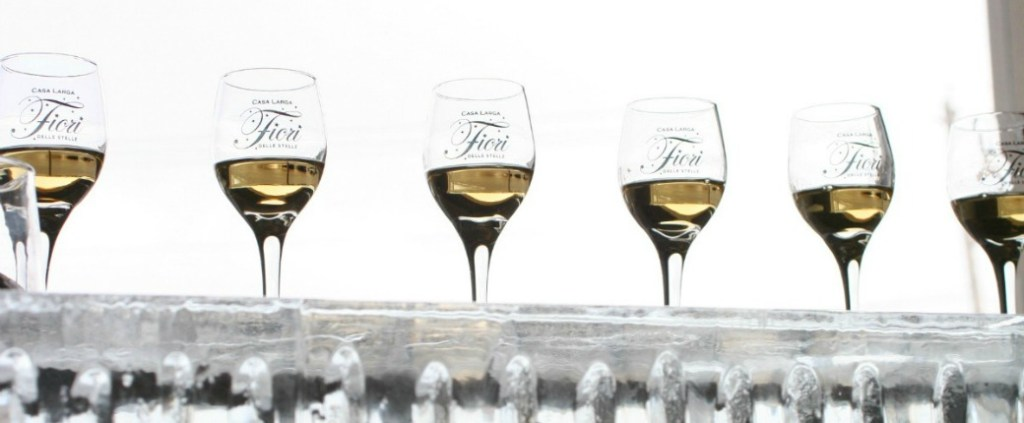 Ice wine in glasses, Ice Wine and Culinary Festival, Casa Larga Vineyards