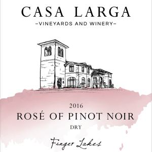 2016 Casa Larga Vineyards Rosé of Pinot Noir