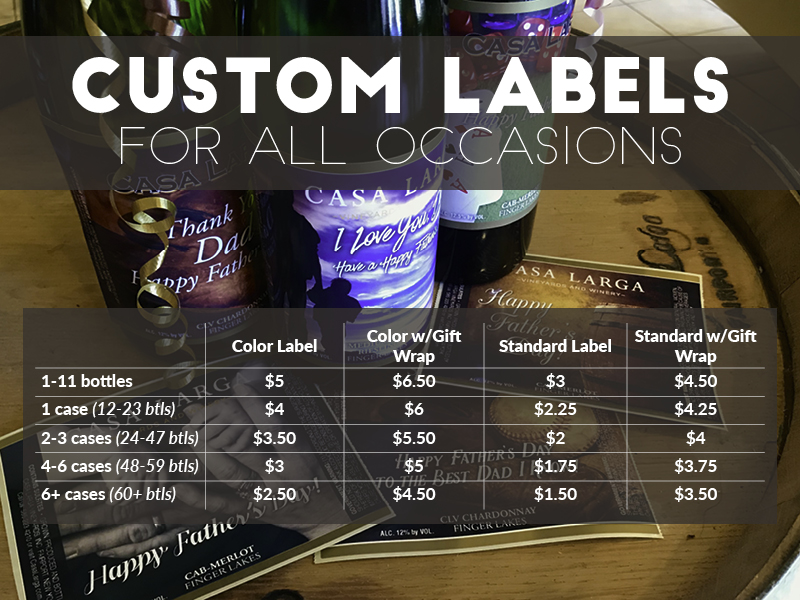 Custom Labels for All Occasions