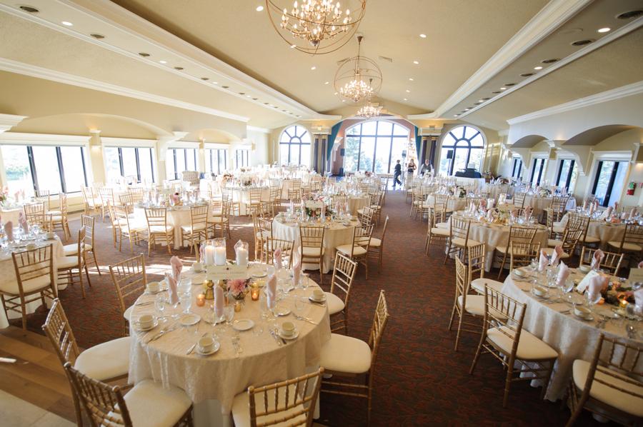 Special Events room set up, Wedding Ceremonies and Receptions at Casa Larga Vineyards