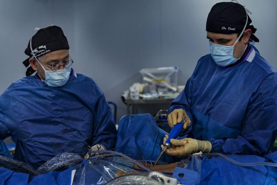 Endoscopia de columna doctor Casal
