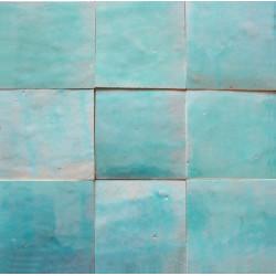 carrelage mural zellige manuel vert pacific 64
