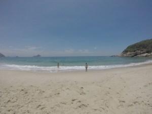 Praia Funda em Barra de Guaratiba