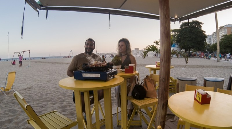 Quiosque em Copacabana