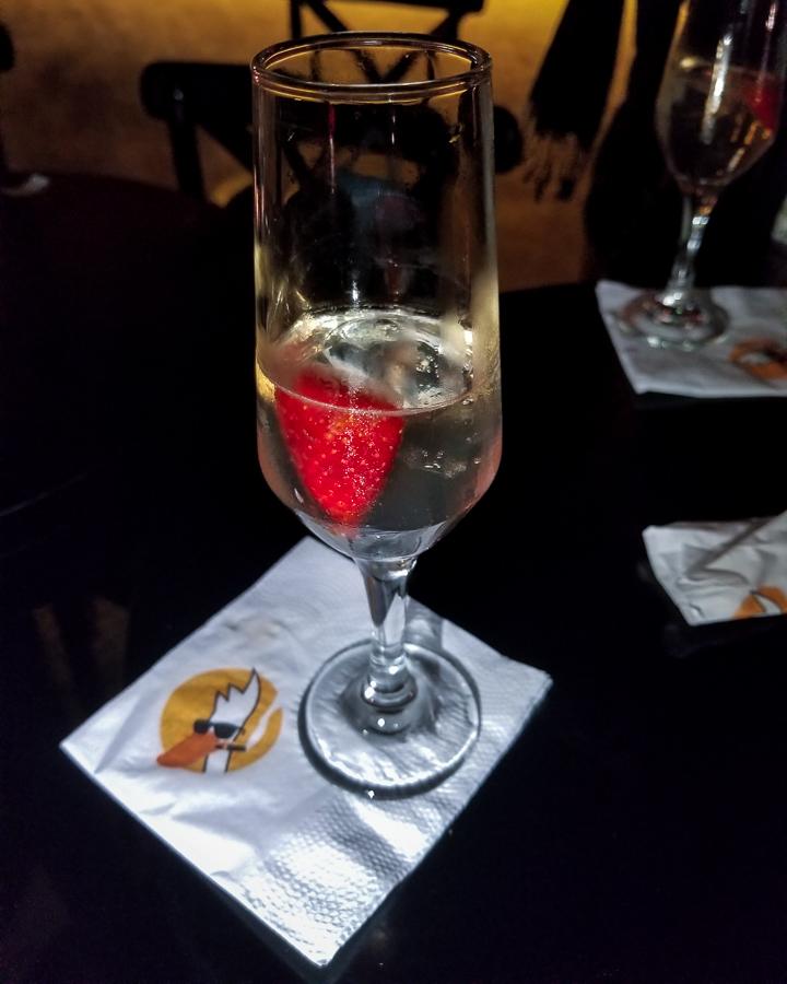Bar em Ipanema Pato com Laranja