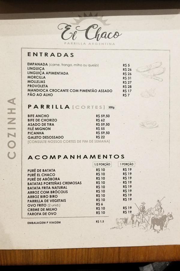Restaurante El Chaco Parrilla Argentina