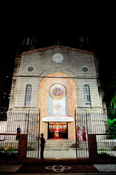 Casamento: Natália e Rafael. Igreja Nossa Senhora do Líbano. Foto: Samuel Gomes.