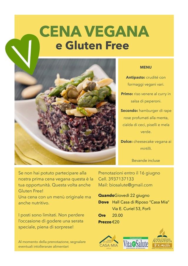 Cena Vegana e Gluten Free