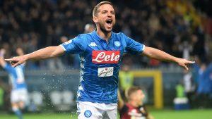 Dries Mertens Coppa Italia record gol