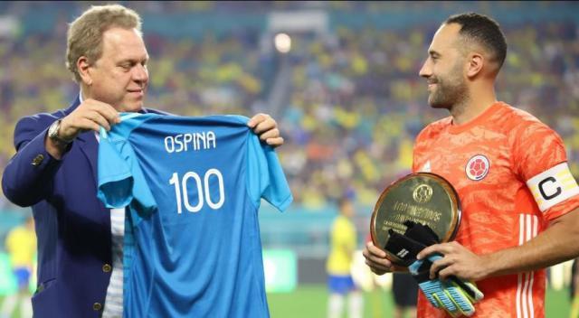 Ospina a quota 100 con la Colombia