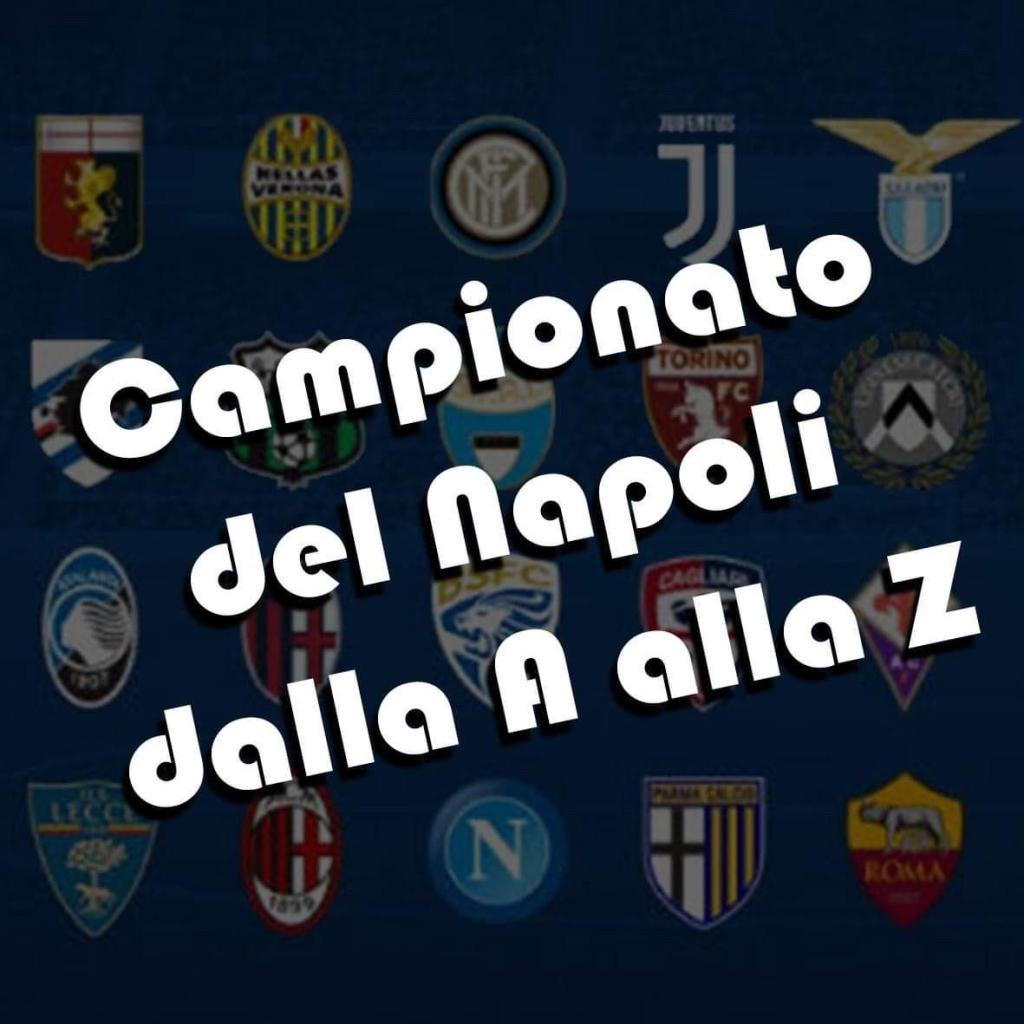 campionato del Napoli dalla A alla Z