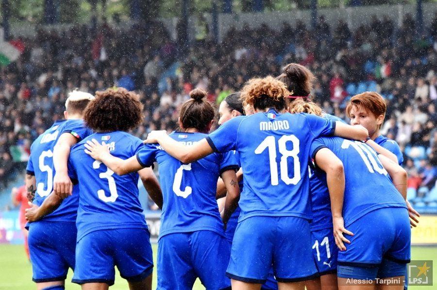 calcio femminile nazionale italiana