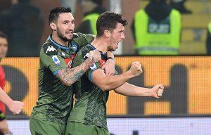 Coppa Italia formazione Demme Mertens