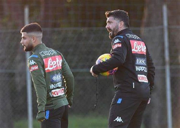 Napoli - Allenamento al Training