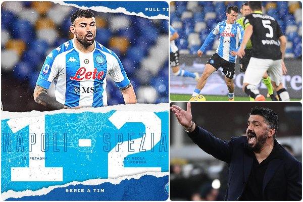 Napoli-Spezia 1-2