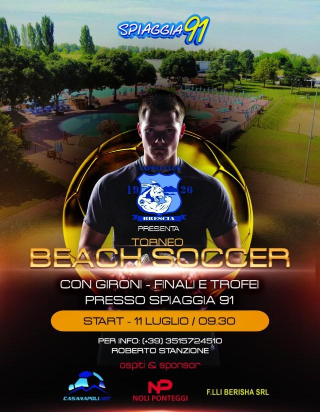 Torneo Beach Soccer Napoli club Brescia