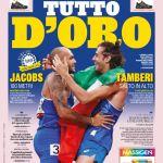"""PRIMA PAGINA- Gazzetta dello Sport: """"Tutto d'oro!"""""""