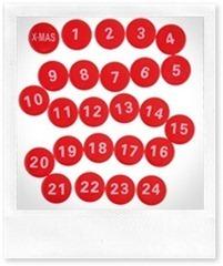 calendario di Natale di Casa Organizzata